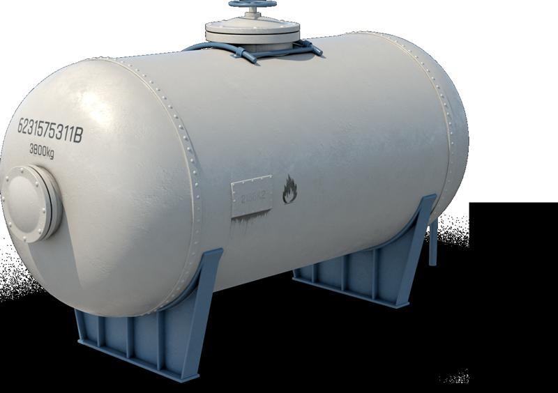 Öl-Tank Brennstoff Heizöl