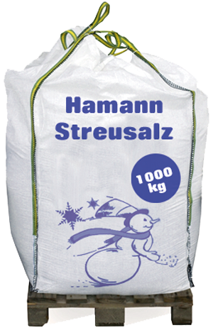 Strausalz Auftausalz im Big Bag ca. 1000 kg