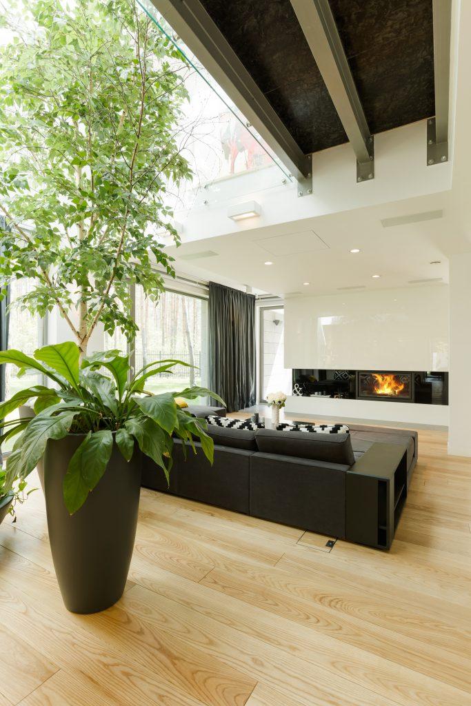 Restposten Kamin Brennstoffe Wohnzimmer Parket Fußboden Bodenbelag