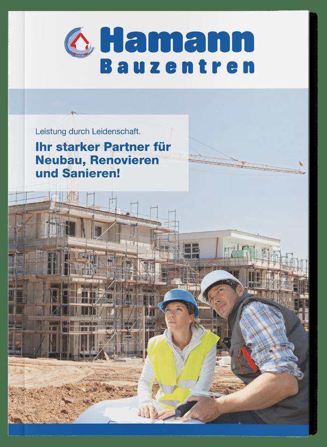 Hamann Bauzentrum Image Broschüre Baustoffe
